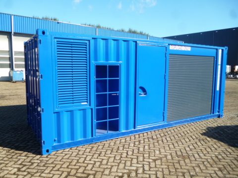 Verbouwde offshore container