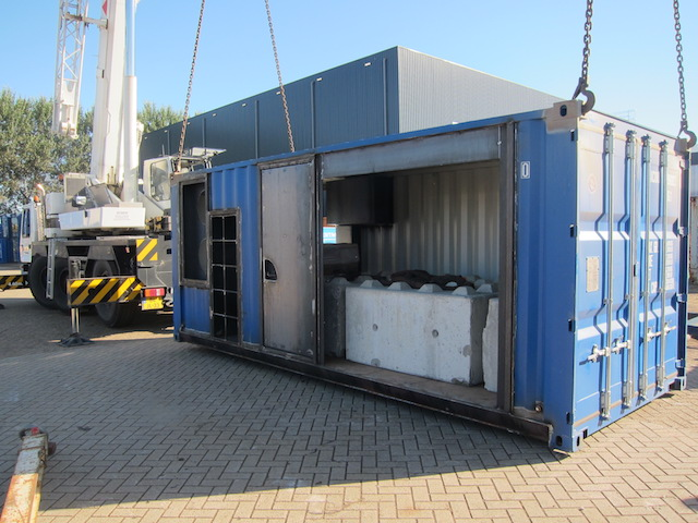 Nieuwbouw containers