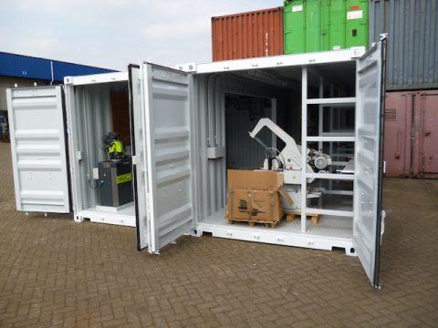 Werkplaatscontainers