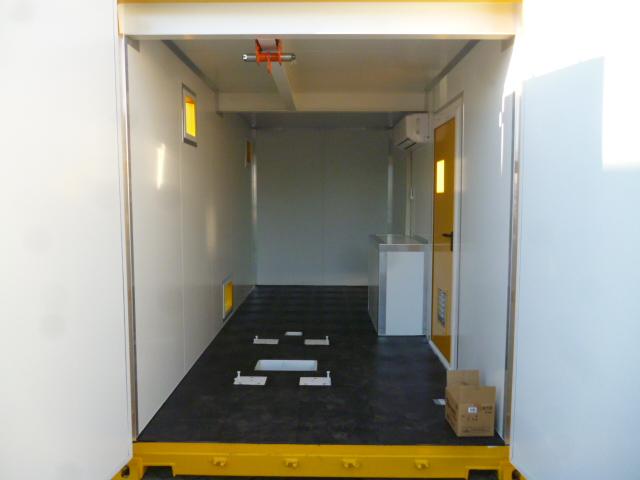 Container geel binnenkant