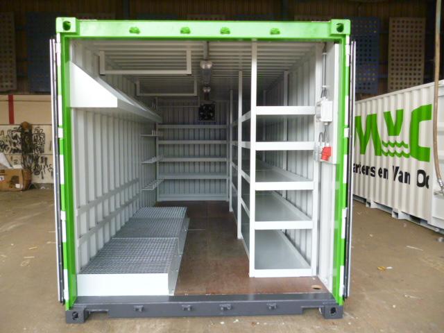 Container inhoud MVO