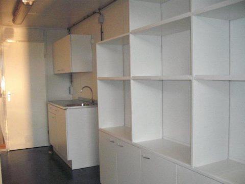 Container met keuken