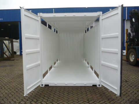 Container wit binnenkant