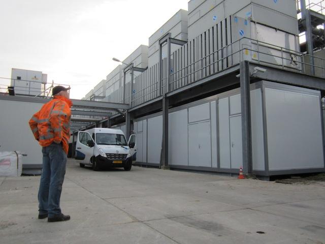 Container op locatie