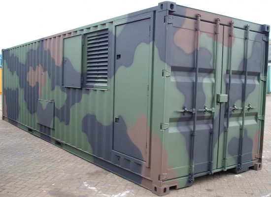 US Army container