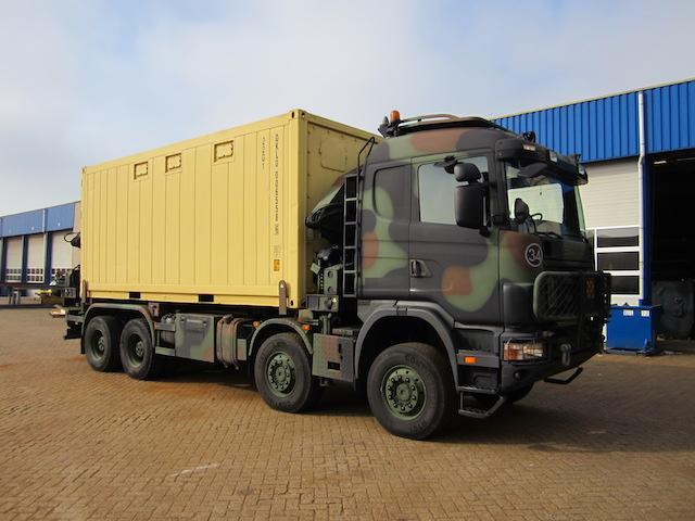 containers voor defensie