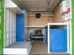 Werkplaatscontainer